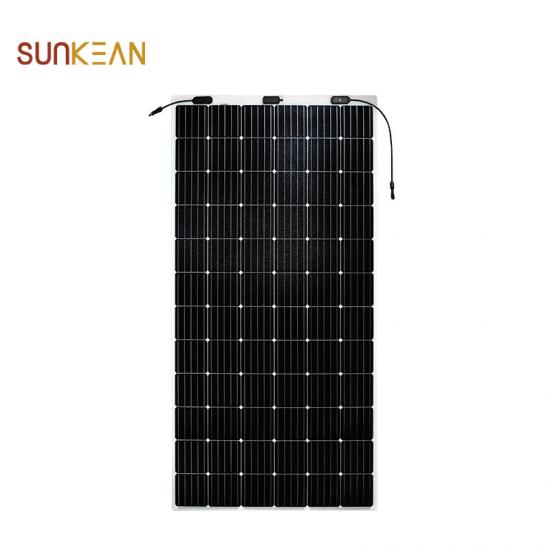 375M frameless flexible solar panel