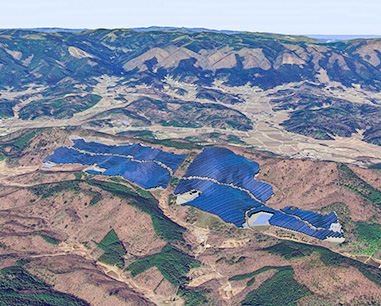 Pacifico Energy Iwaki Mega Solar Project (42.3MW) in Japan