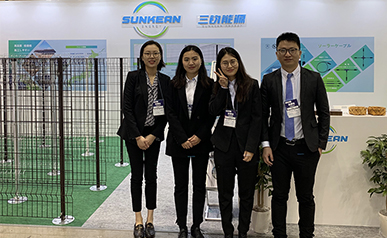 PV EXPO Japan 2019 | pvc coated wire mesh fence