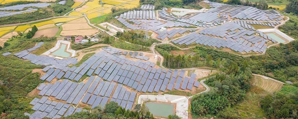 60MW SUIMEI solar energy system project in Japan 2020